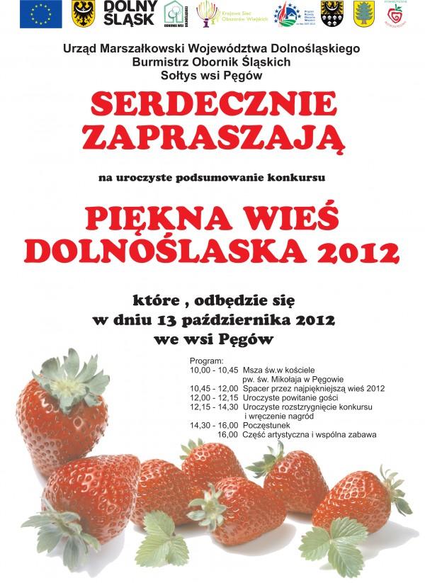 Piękna wieś Dolnego Śląska