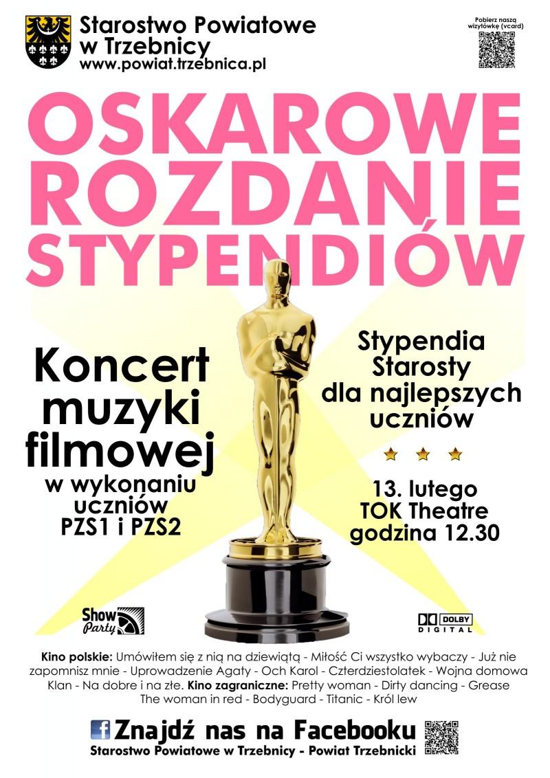 Oskarowe Rozdanie Stypendiów Starosty