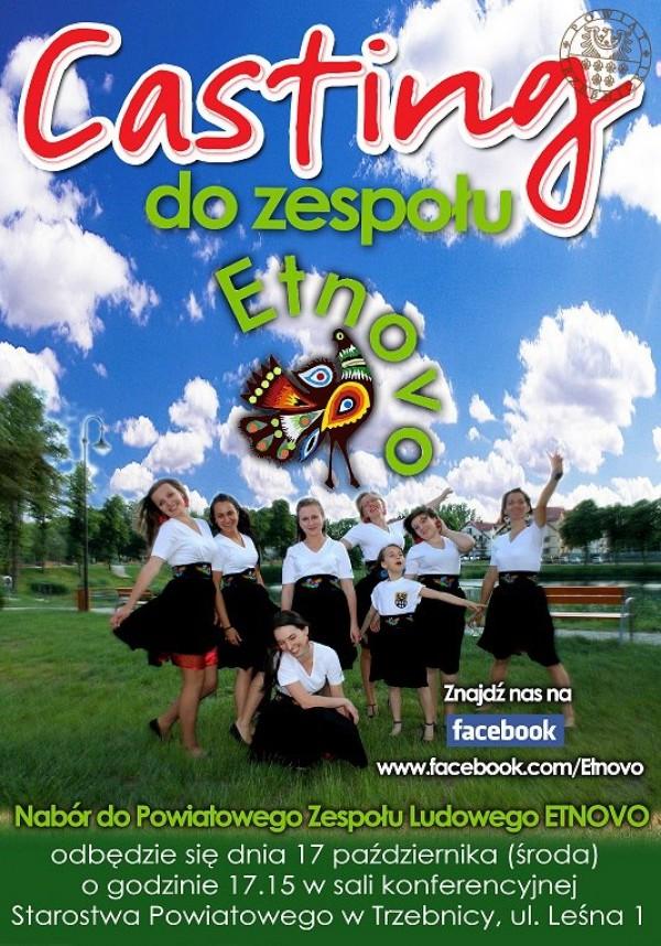 Casting do Powiatowego Zespołu Etnovo