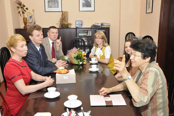 Podpisanie porozumienia PZS W Żmigrodzie Z UP we Wrocławiu