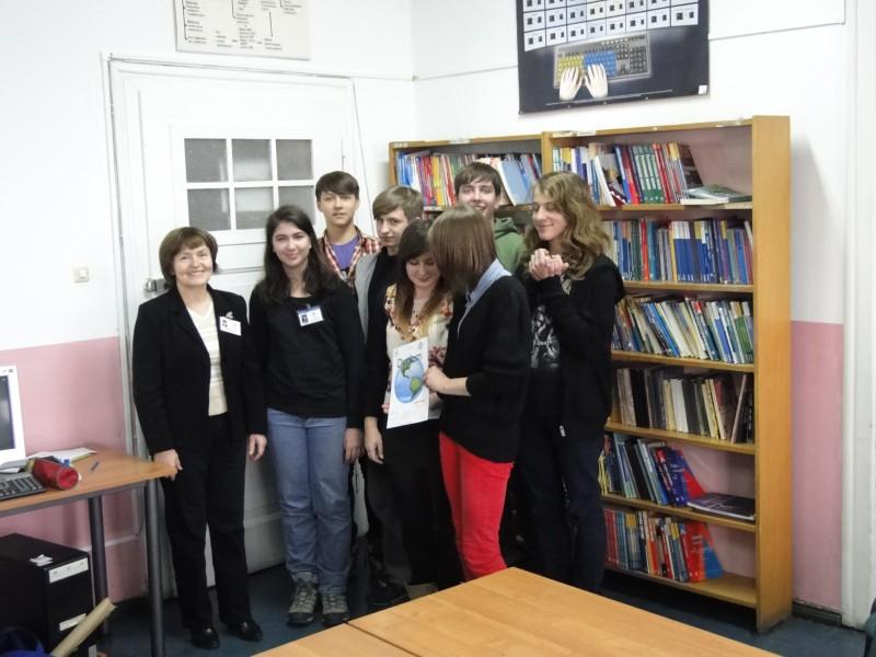 Tydzień Edukacji Globalnej w Powiatowym Zespole Szkół nr 1  w Trzebnicy